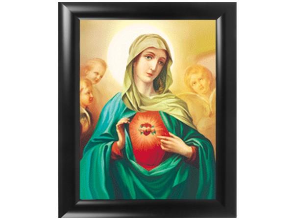 3D Effekt Bilder Wandbild Effektbild Bild Wandbilder mit Rahmen Maria 103