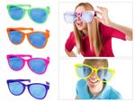 Funglasses Jumbo Party Glasses Big Glasses Novelty Glasses carnival party clown glasses