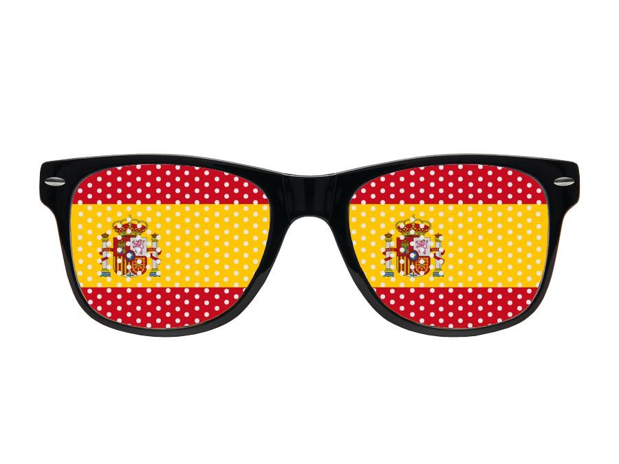 Alsino WM Lochbrille Pinehole Fanbrille Fussball Brille Länderbrille Gitterbrille Rasterbrille – Bild 3