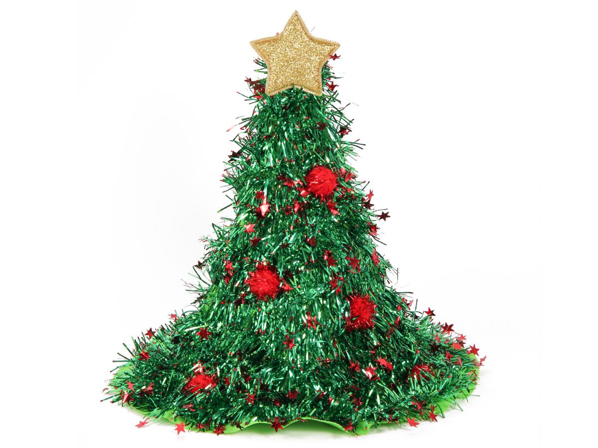 Mini Weihnachtsmütze Nikolaus-Mütze mit Haarclip Glocke Feder Pailetten rot 132