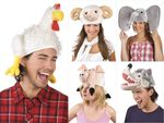 Alsino carnival chicken sheep pig hat hat wolf hat carnival headgear