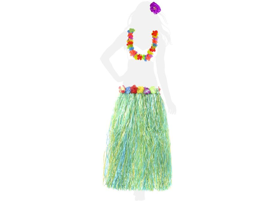 Hawaii Outfit Damen Hula Girl KV-01 – Bild 1