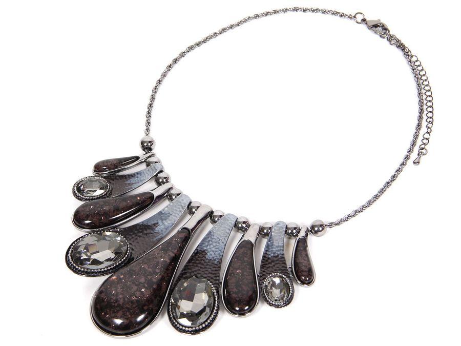 Statement Necklace Kette – Bild 5