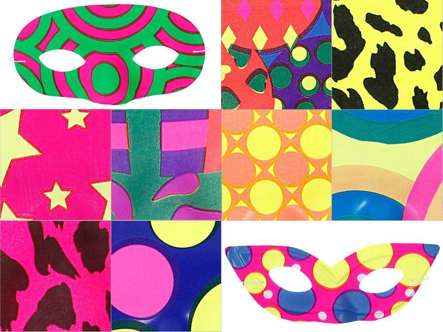 Karneval Maske Augenmaske in verschiedenen Farben