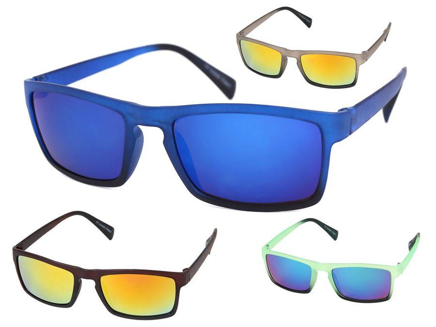 Nerd Sonnenbrille verspiegelt
