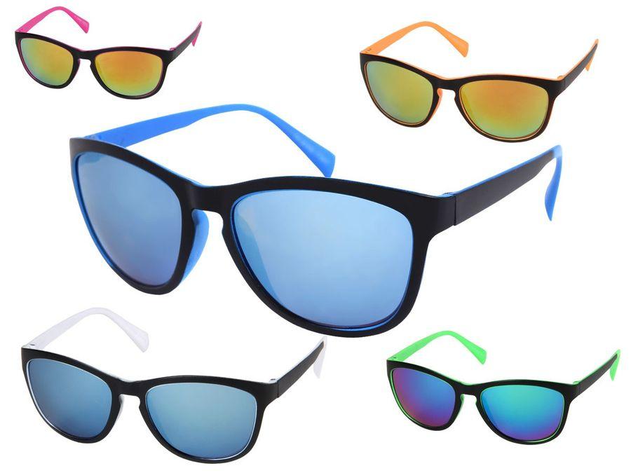 Nerd Brille Retro Sonnenbrille