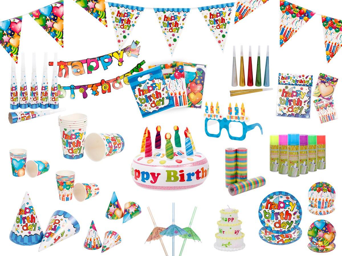 Geburtstagsdeko für den Kindergeburtstag
