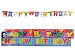 181013 Girlande Happy Birthday 2er Set
