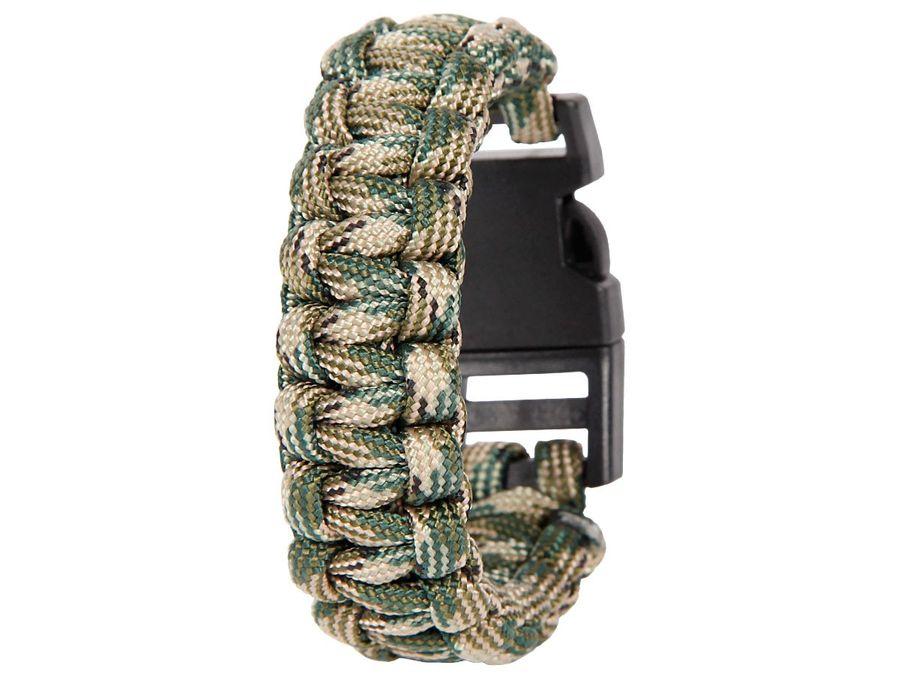 Alsino Paracord Armband Paracordarmband Kordel Survival Outdoor Bracelet Paraarmband – Bild 7