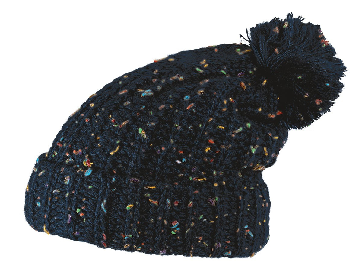 6c17cb2a718 Bobble Beanie Hat winter knit cap Women Men Poodle (SM-136 dark gray)