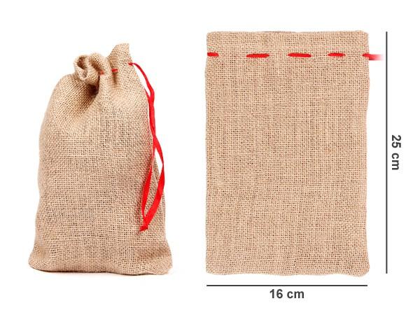 Adventskalender Säckchen Jutesäckchen - 12-48 Stück - 3 Größen – Bild 8