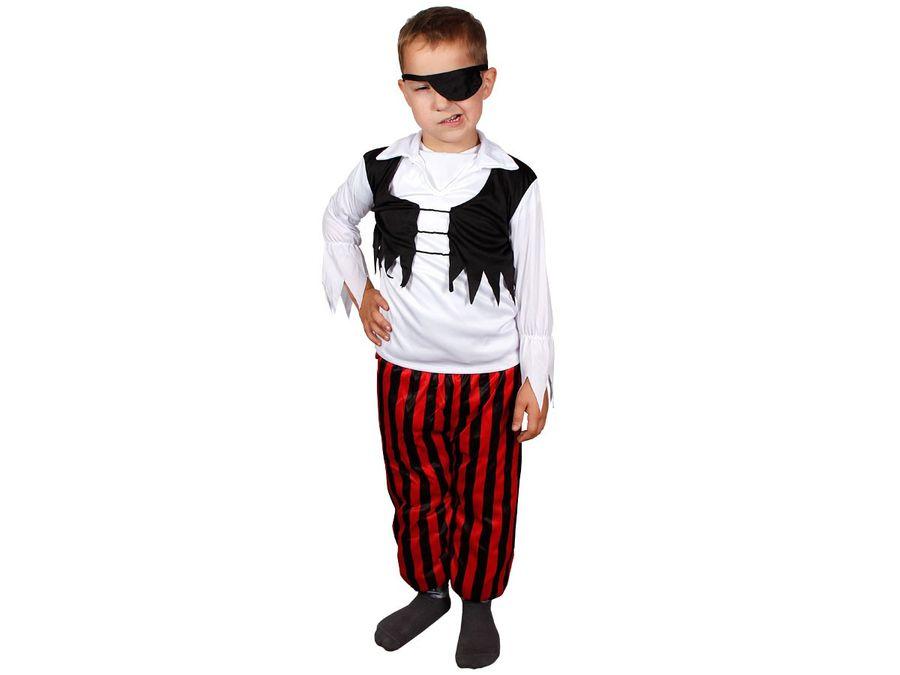 Piratenkostüm für Kinder mit Augenklappe 63/2619