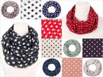 Alsino Loopschal Dots Loop Scarf Shawl Scarf Snood points hose