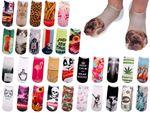 Chaussettes courtes: Socquettess avec motifs Taille: 36 – 39 pour femme ou Ados fille garçon Une petite touche d'humour, d'amour, de tendresse, de fantaisie, et surtout d'originalité