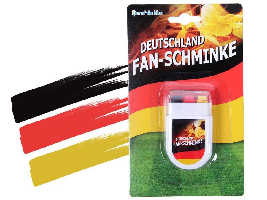Alsino Schminkstift Fan Schminke Fanartikel Make Up Deutschland 00/0609 WM Fußball Fanschminke