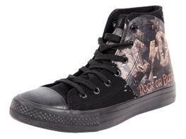 ACDC Original Schuh Rock AC/DC Größe 37-47 Rock or Bust High Top