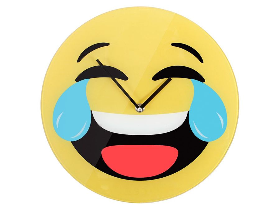 Emoticon Emojicon-con Wanduhr 30 cm – Bild 3