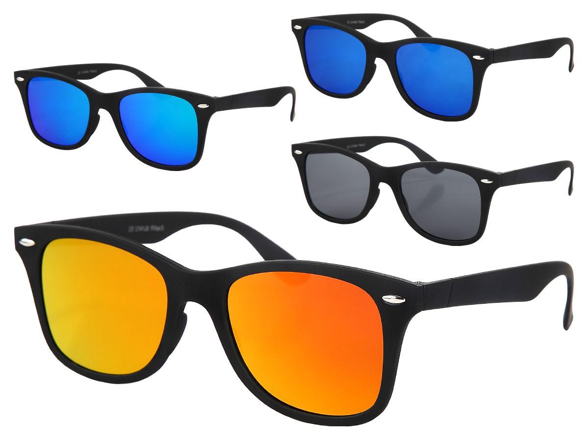 Sonnenbrille Flat Lens Hipster-Brille Nerd-Brille Flattop flache Gläser