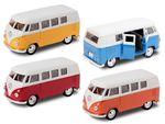 Alsino VW Bulli Bus T1 1963 Model car Bus 12 cm Classical Model Bully Welly