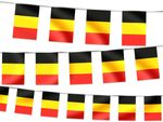 Pennant decoration Belgium 00/1013 Countries pennants national flags Garland Bunting country flags Memorabilia