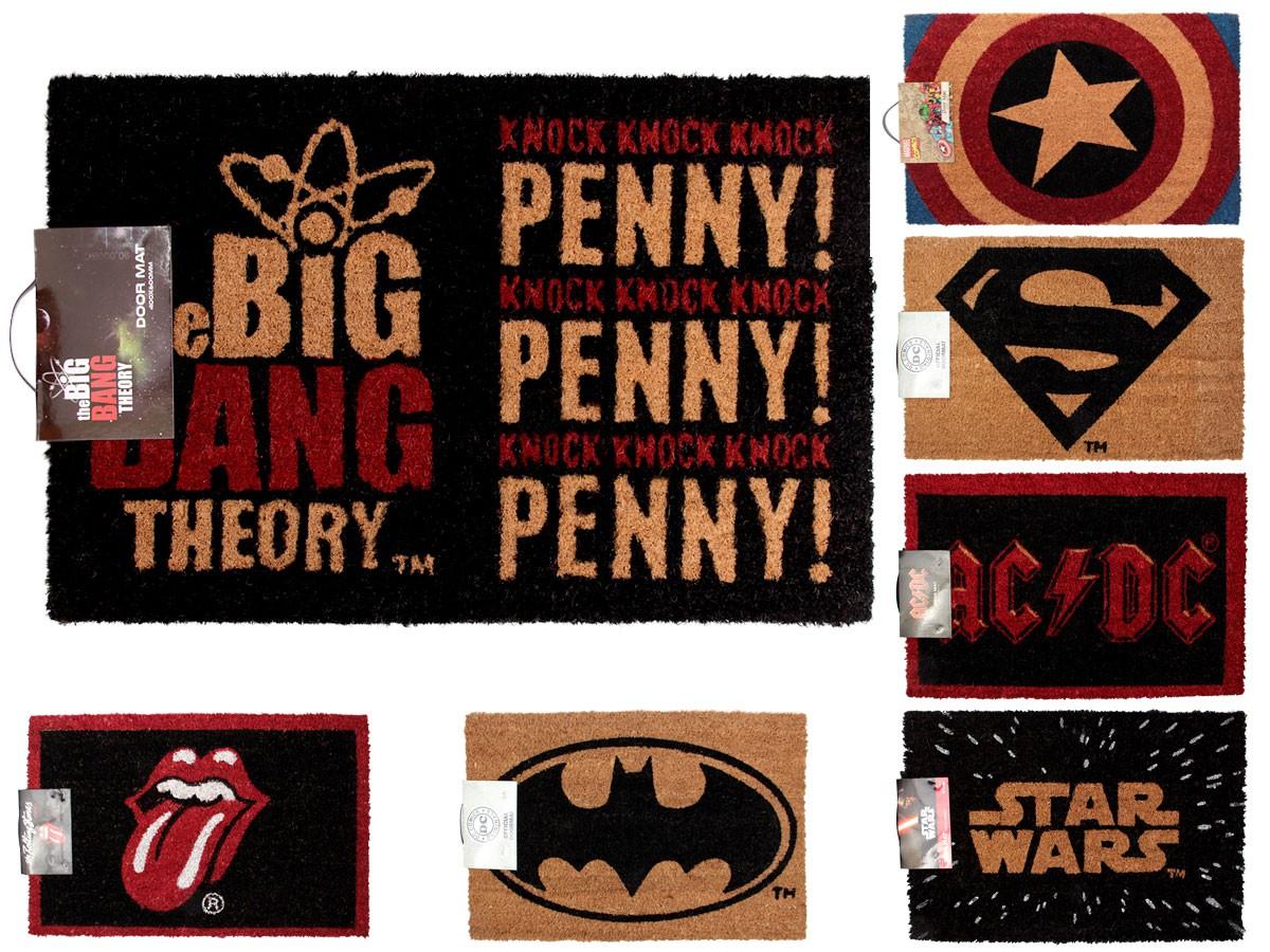 fu matte kokosfasern star wars batman superman von alsino. Black Bedroom Furniture Sets. Home Design Ideas