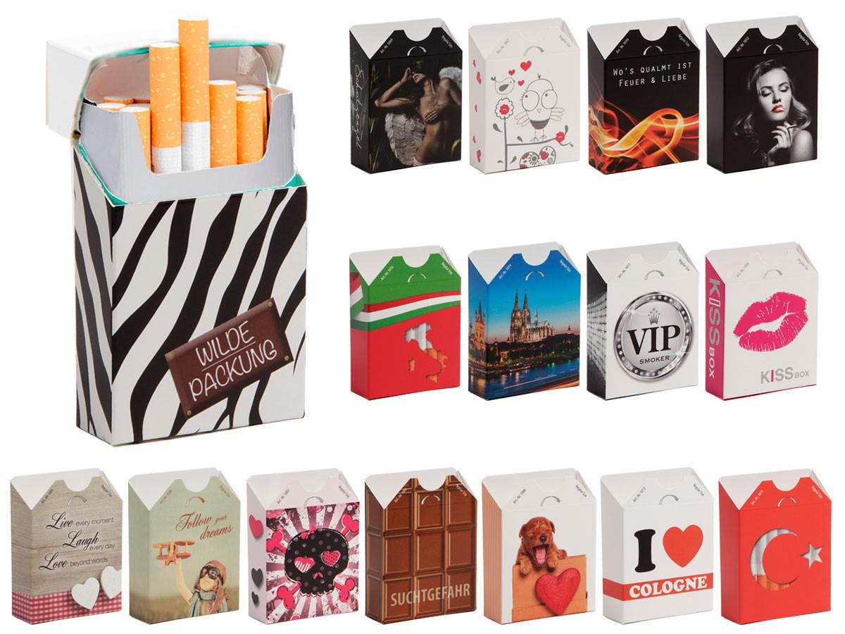 Zigarettenschachtel Hülle Überzieher