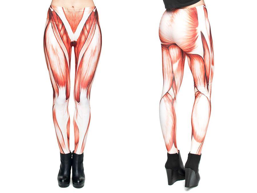Ausgefallene Leggings mit coolen Motiven Print Leggins – Bild 25