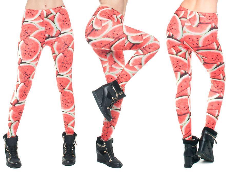 Leggings bedruckt im Print Look Sport Leggins ALSINO – Bild 15