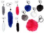 Fur Plush Keychains handbag pendants fur followers of Alsino