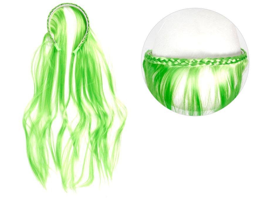 Halloween Hexen Accessoire Haarband Kopfschmuck Haarteil Perücke von Alsino – Bild 3