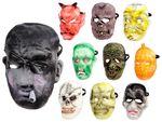 Halloween Maske Zombie Spooky Mask Horrormaske Gruselmaske von Alsino