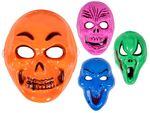 Halloween Gesichtsmaske Monster Grimasse Horrormaske Zombiemaske von Alsino