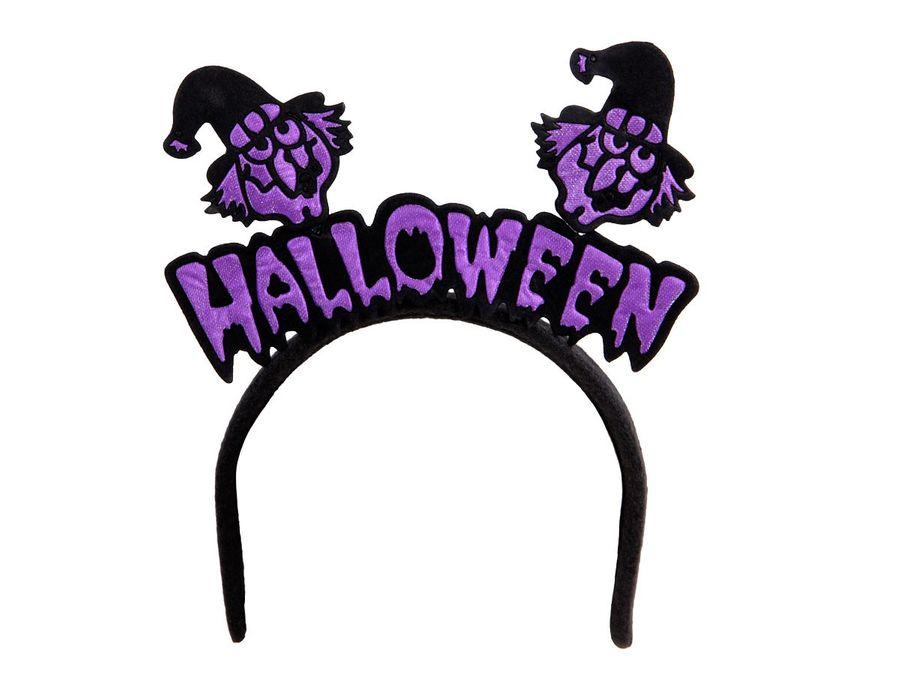 Halloween Haarreifen Haarreif Kürbis Monster Hexe Vampir Horror Kopfschmuck von Alsino – Bild 3