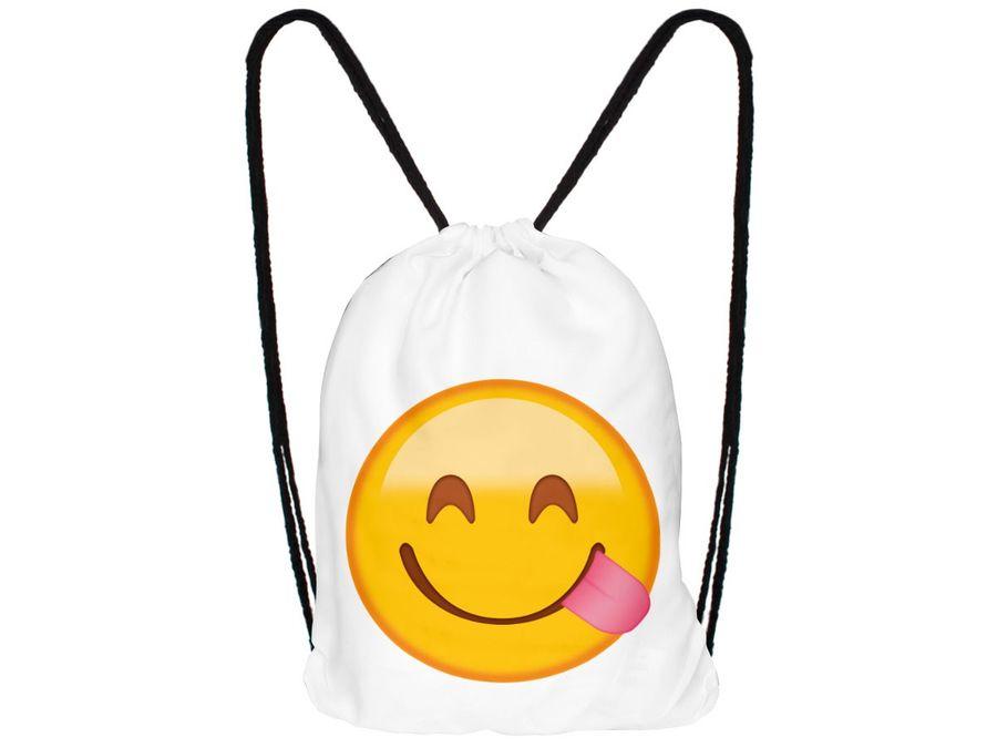 Turnbeutel Hipster mit Emojicon – Bild 13