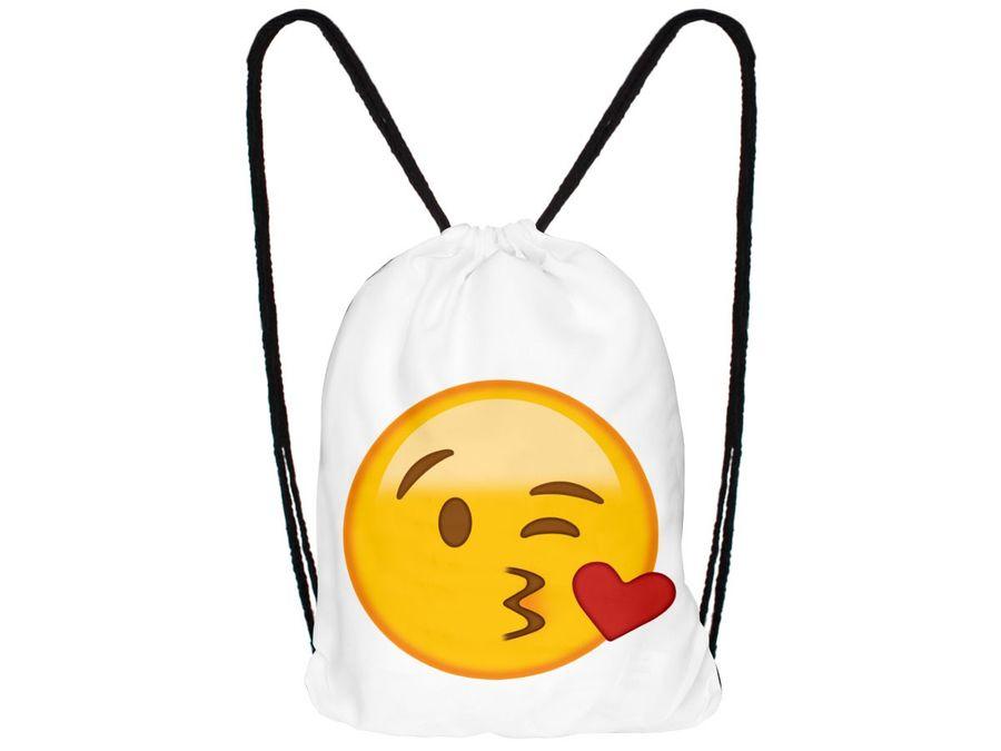 Turnbeutel Hipster mit Emojicon – Bild 19