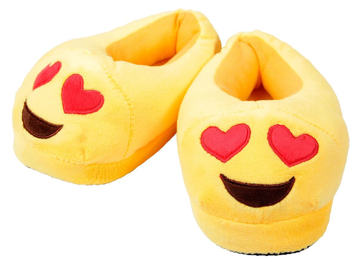 sortie en vente grande variété de styles profiter de la livraison gratuite Pantoufles Chaussons pour adultes et ados en peluche drôle Smiley Emojicon  émoticônes idée cadeau ultra doux qualité supérieure chaussures de maison  ...