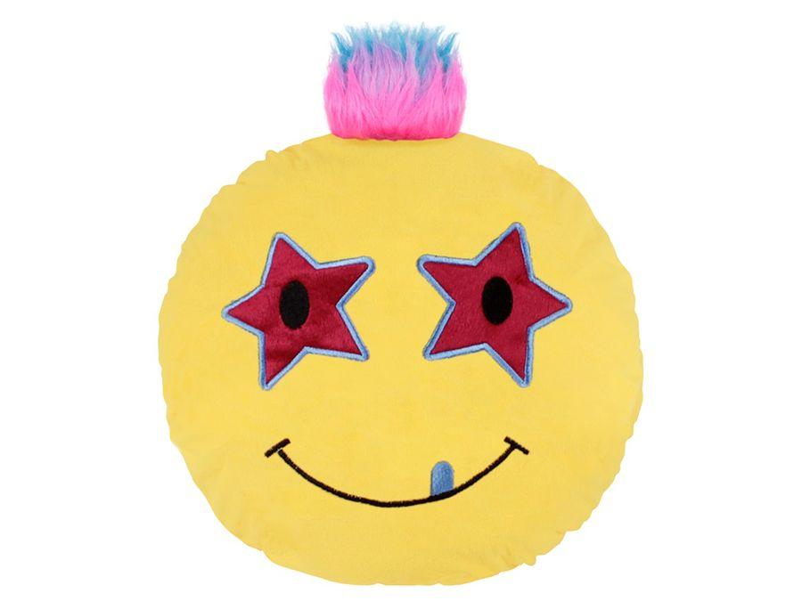 Emojicon Kissen XXL Katze Geist Emoticon Kackhaufen Punk Emojicon-Kissen von Alsino – Bild 7