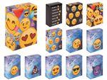 Zigarettenschachtel Zigaretten Hülle Overall Überzieher Emojicon Emoticon Design von Alsino