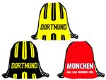 Gym Bag Cities Munich Dortmund City Sports Bags Hipster Bags by Alsino