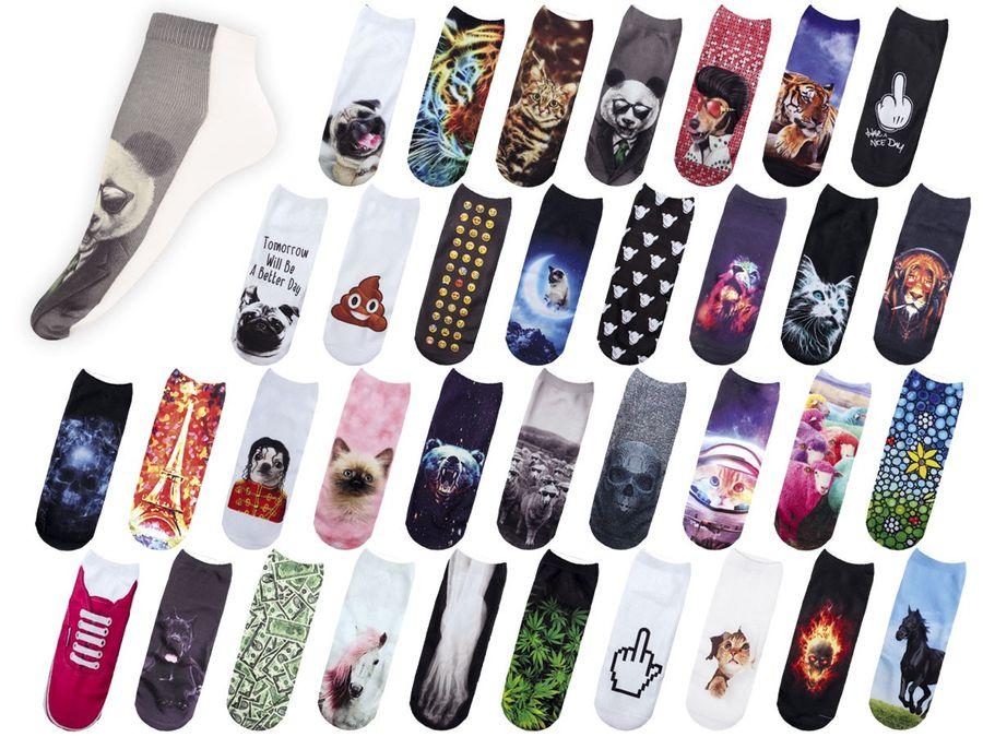 Coole Socken mit lustigen Motiven ALSINO