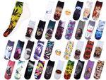 Chaussettes courtes: Socquettess avec motifs Taille: 36 – 39 pour femme ou Ados fille garçon