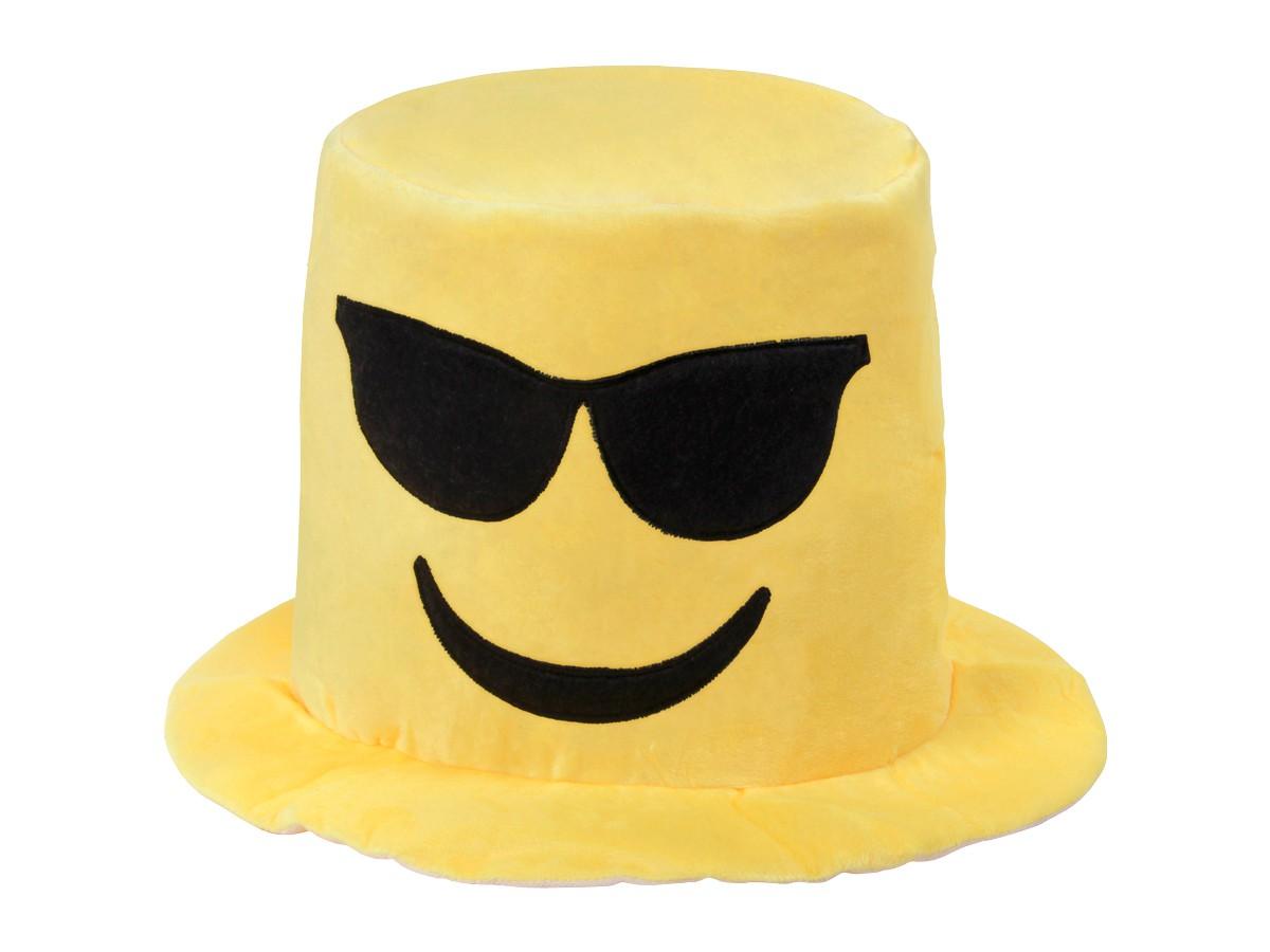 Emojicon Hut Emoticon Karneval Mutze Sepplhut Party Outfit Smiley