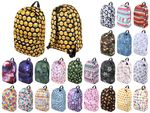 Sackpack Backpack Bag Schoolbag Leisurebag with Funny Print Emoji 40 x 35 cm Polyester Zip for School Travel Trecking University Lifestyle Fashion Highschool Adults Teenagers Children from Alsino