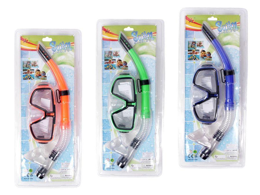 Schnorchelset Taucherbrille Schnorchel ALSINO
