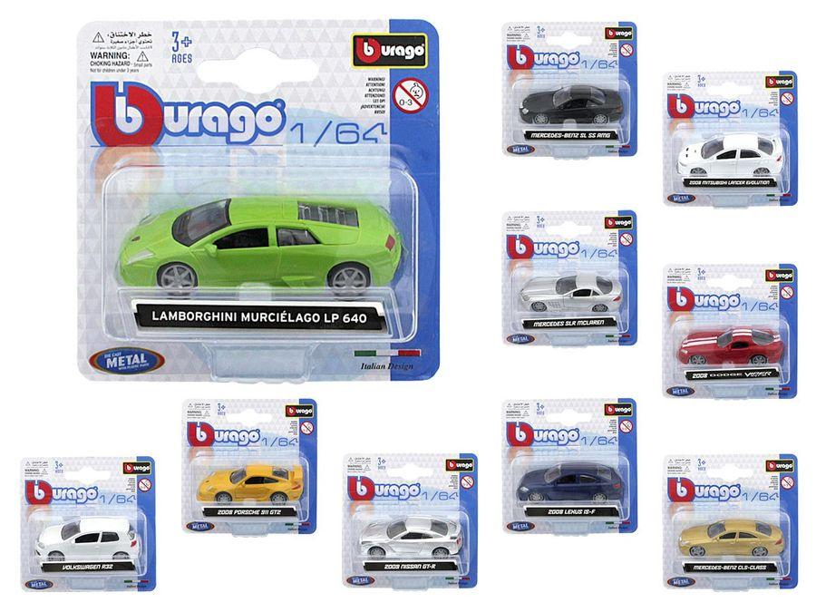 Burago Modellautos Maßstab 1:64 von ALSINO