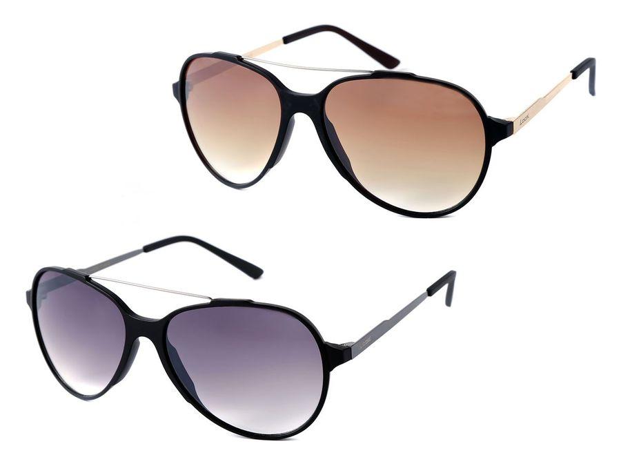 LOOX Sonnenbrille Herren Damen Retro Pilotenbrille Modell Nice 101 von ALSINO