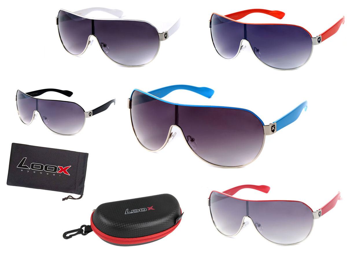 LOOX Sonnenbrille Herren Damen Retro Pilotenbrille Modell Cancun 102 ...