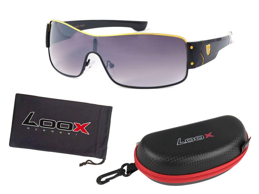LOOX Pilotenbrille Sonnenbrille Vintage große Gläser Herren Damen Retro Fliegerbrille Modell Ibiza 108 von ALSINO