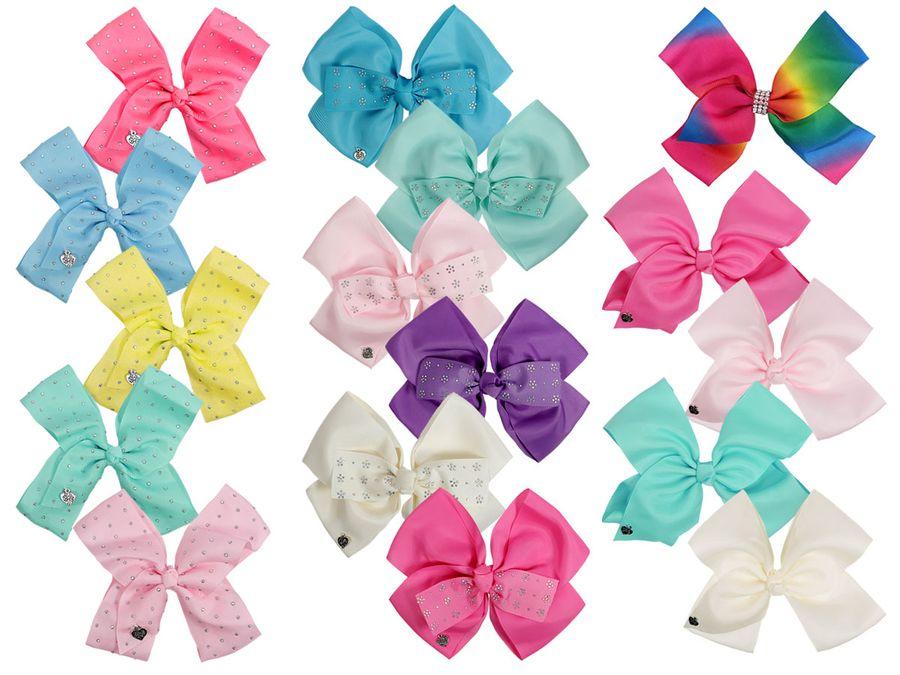 Haarschleife Mädchen Groß Pink Haar Schleifen XXL Haarclip Haarklammer Haarspange von ALSINO