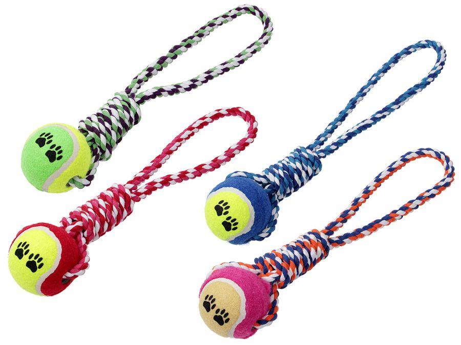 Zerrspielzeug Tennisball Apportierspielzeug